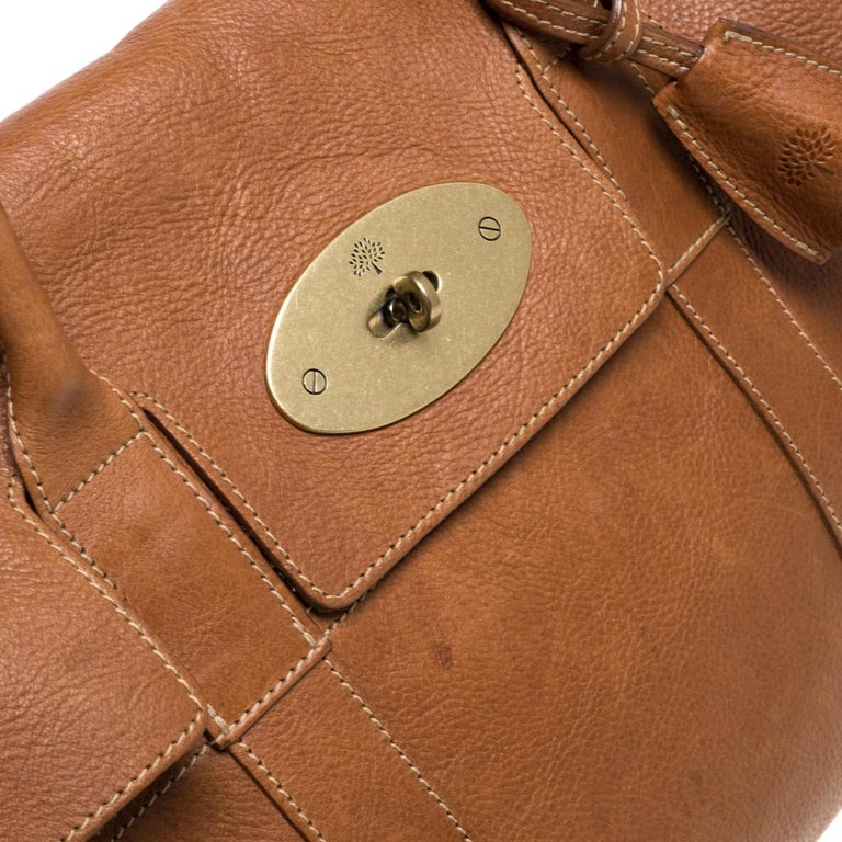 Mulberry Brown Leather Bayswater Satchel 5