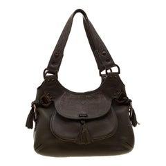 Mulberry Deep Green Leather Shoulder Bag
