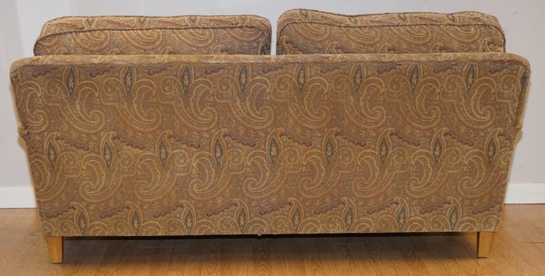 Mulberry Designer Made To Order Feather Filled Howard Manner Sofa For Sale 4