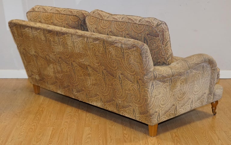 Mulberry Designer Made To Order Feather Filled Howard Manner Sofa For Sale 5