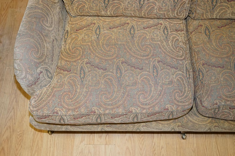 Mulberry Designer Made To Order Feather Filled Howard Manner Sofa For Sale 6