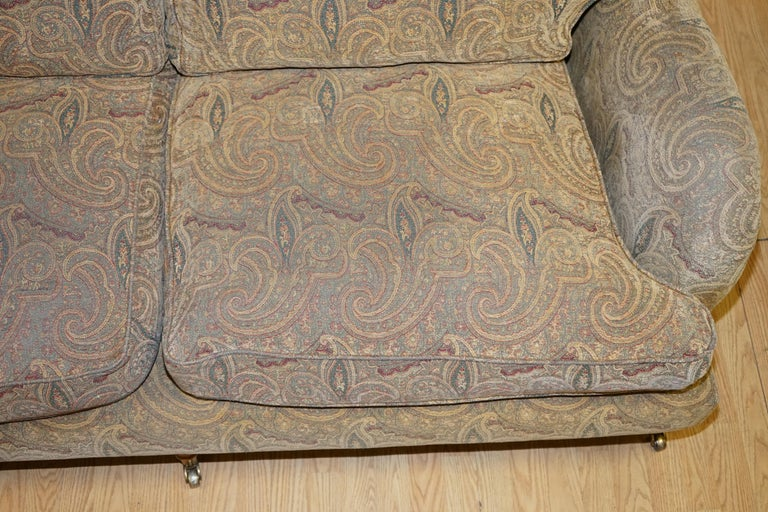 Mulberry Designer Made To Order Feather Filled Howard Manner Sofa For Sale 7