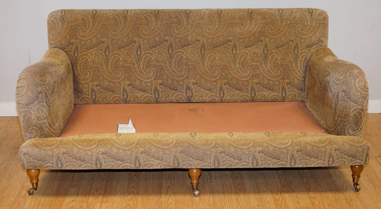 Mulberry Designer Made To Order Feather Filled Howard Manner Sofa For Sale 9