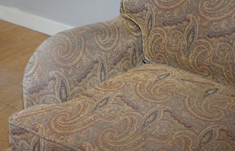 Mulberry Designer Made To Order Feather Filled Howard Manner Sofa In Good Condition For Sale In , Pulborough