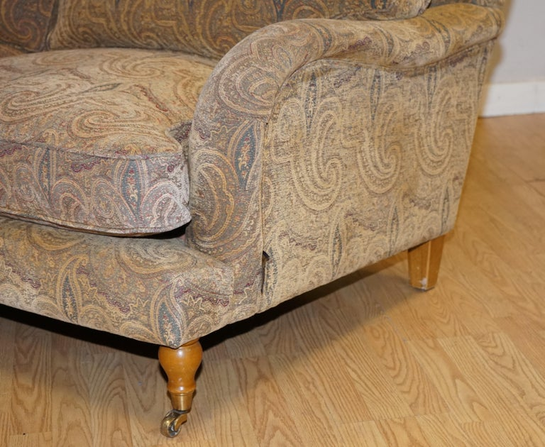 Mulberry Designer Made To Order Feather Filled Howard Manner Sofa For Sale 1