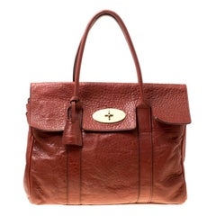 66b09737f2 Mulberry Travel Day Bag Lizard Print Leather Medium at 1stdibs