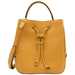 Mulberry Maize Yellow Silky Calf Hampstead Bag