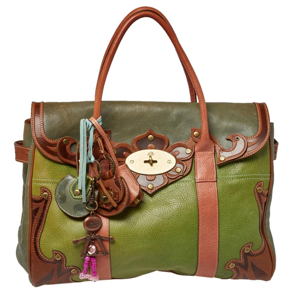 Mulberry Multicolor Leather Bayswater Satchel