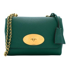 Mulberry Small Lily Bag in Ocean Green 20cm