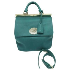 Mulberry Small Suffolk Bag - Green - Smooth Leather
