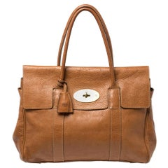 Mulberry Tan Leather Bayswater Satchel