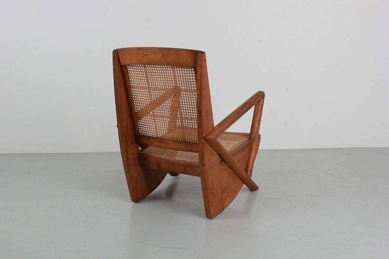 Contemporary Mulholland Caned Chairs For Sale