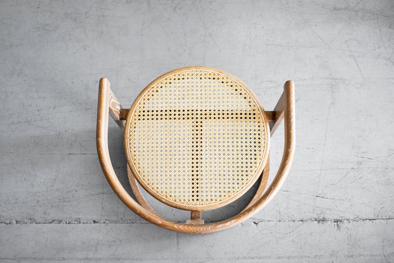 Contemporary Mulholland Caned Dining Chair For Sale