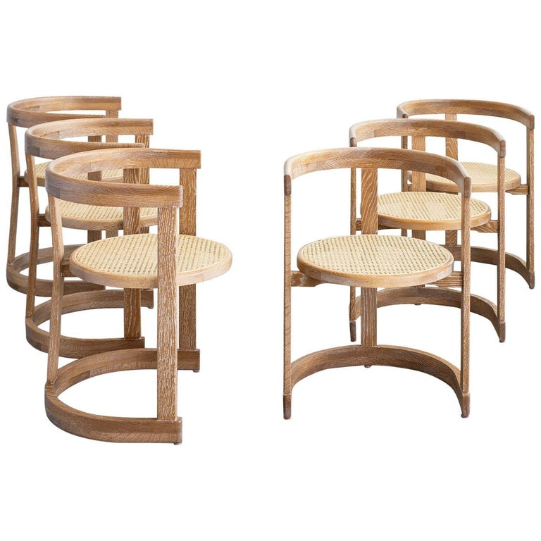 Mulholland Caned Dining Chair For Sale