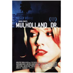 Mulholland Drive 2001 U.S. One Sheet Film Poster