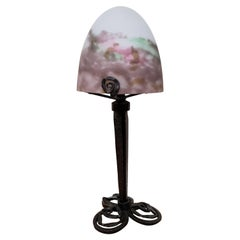 Muller Freres French Art Deco Table Lamp