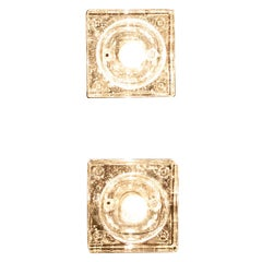 Müller & Zimmer Cubic Chrystal Wall Ceiling Ore Table Lamps