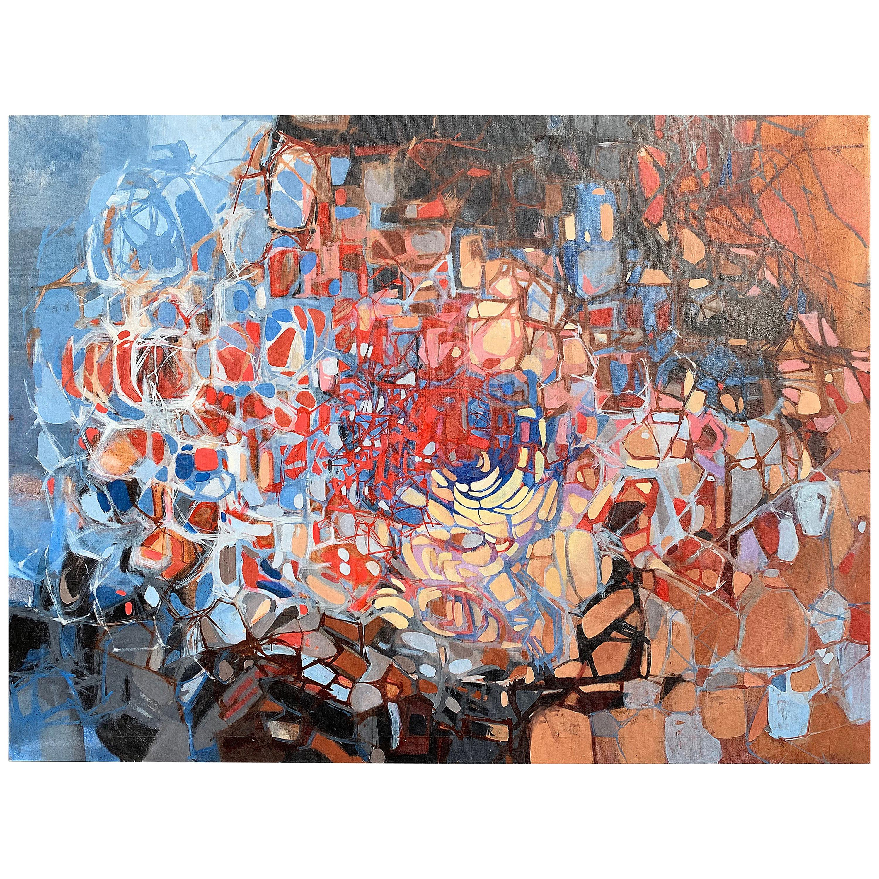 Multi-Color Abstract Painting