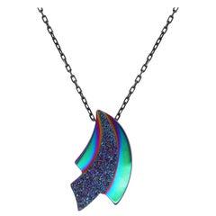 Multi-Color Druzy Pendant