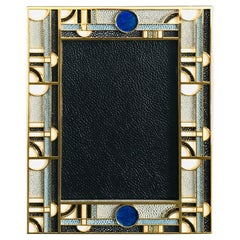 Multi-Color Shagreen Gold-Plated Photo Frame by Fabio Ltd.