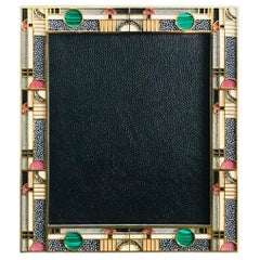 Multi-Color Shagreen Gold-Plated Photo Frame by Fabio Ltd