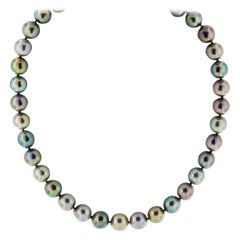 Multi-Color Tahitian Pearl Necklace
