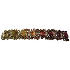 Multi Gemstone Mermaid Bracelet