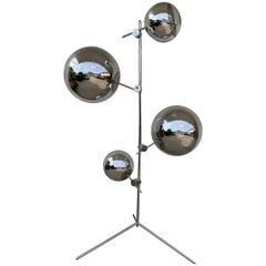 Multi-Mirror Ball Floor Lamp by Tom Dixon