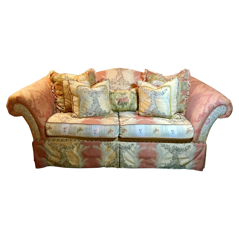Multi-Pattern Comfy Down Sofa