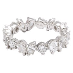 Multi-Shape Diamond Eternity Band