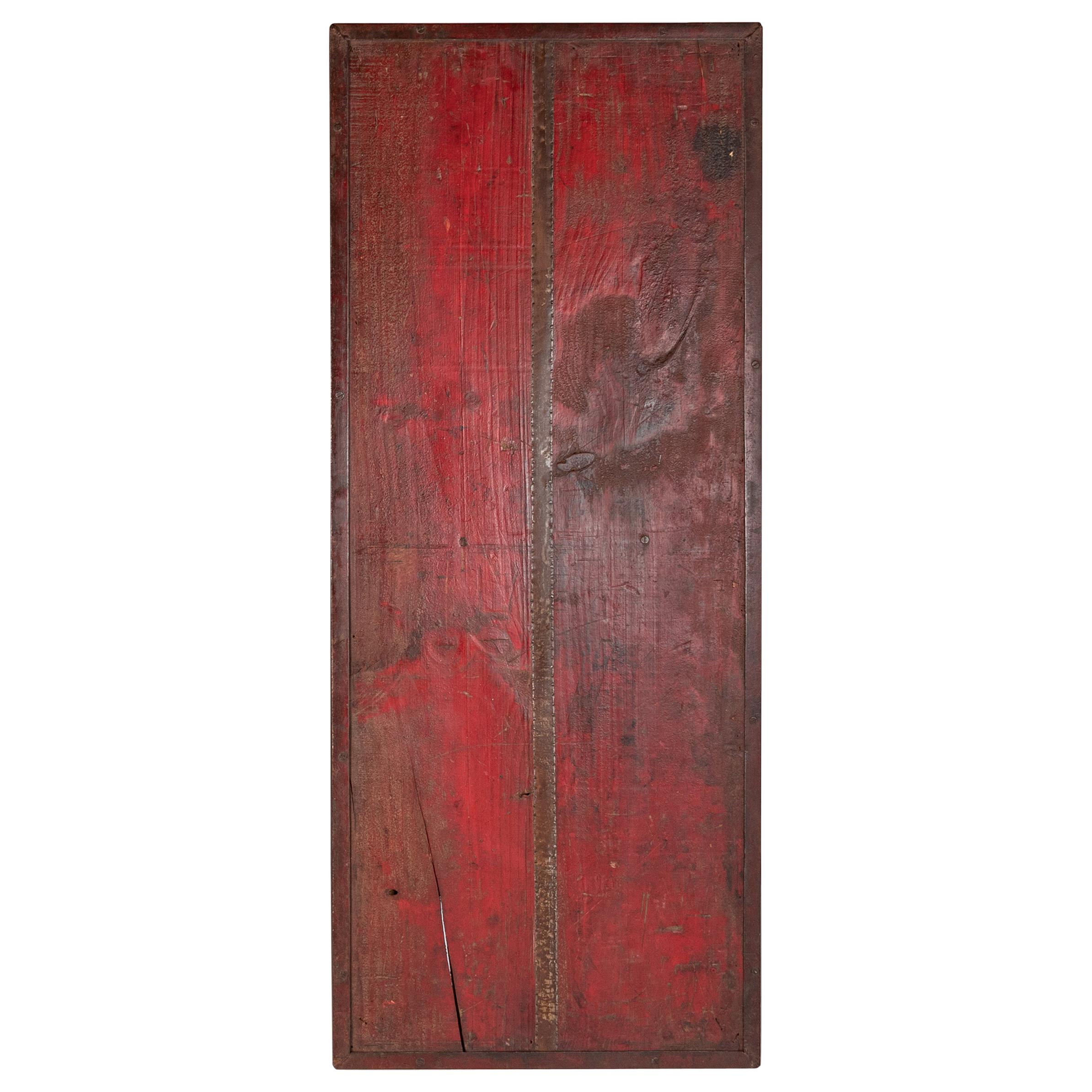 Multi Tone Wall Panel with Reclaimed Elements