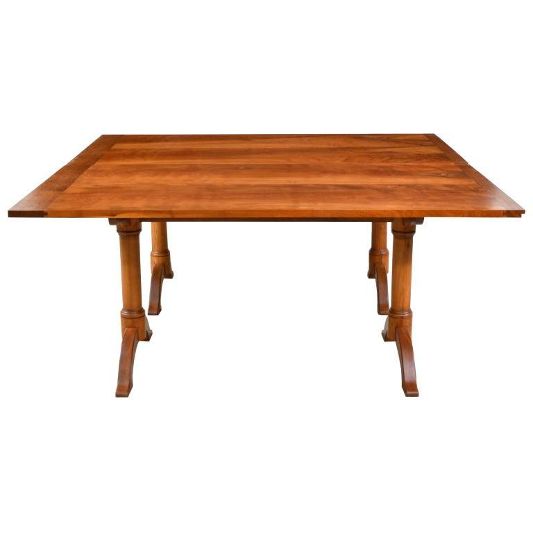 Shaker Bonnin Ashley Custom-Made  Multi-Use  Square or Rectangular Dining Table For Sale