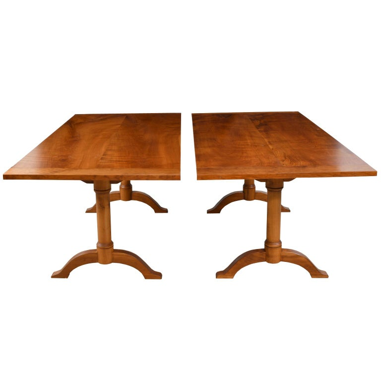 American Bonnin Ashley Custom-Made  Multi-Use  Square or Rectangular Dining Table For Sale
