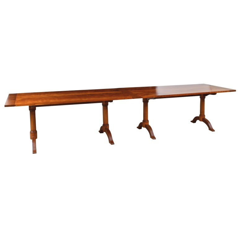 Bonnin Ashley Custom-Made  Multi-Use  Square or Rectangular Dining Table In New Condition For Sale In Miami, FL