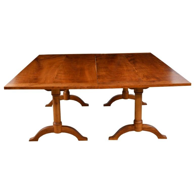 Bonnin Ashley Custom-Made  Multi-Use  Square or Rectangular Dining Table For Sale