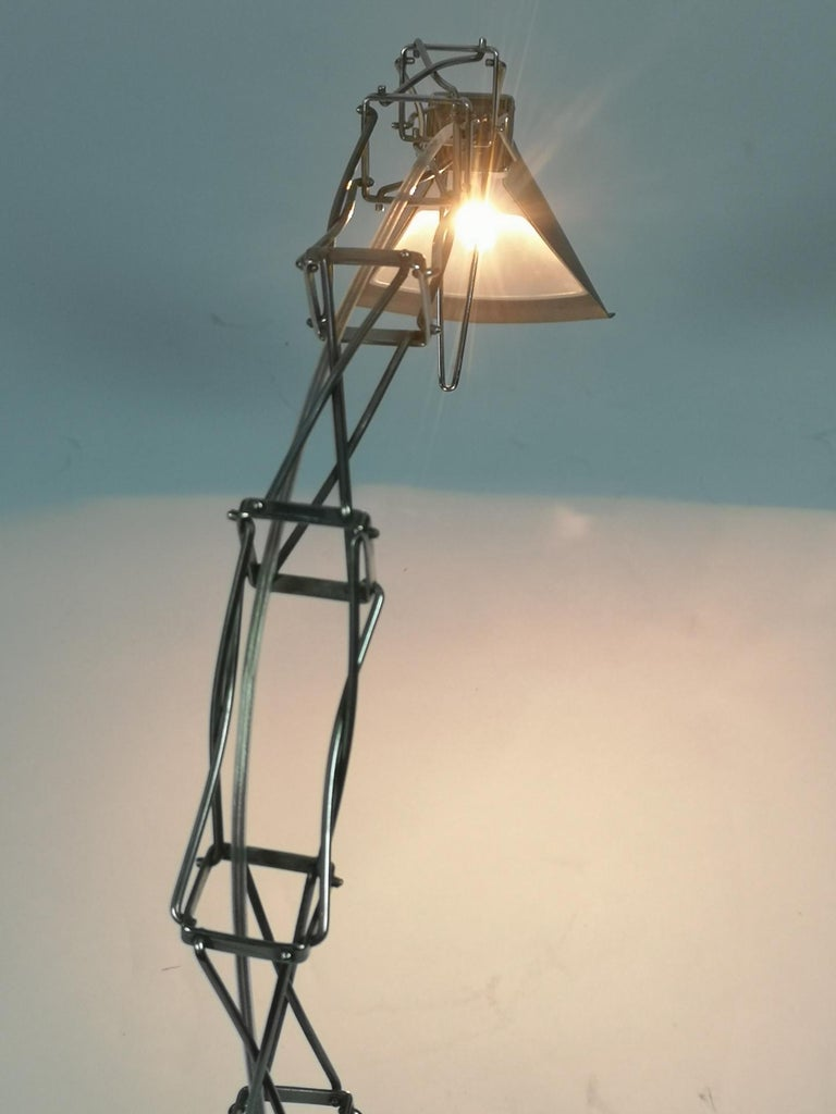 Multi X Desk Lamp by Yaacov Kaufman for Lumina, 1980s For Sale 8