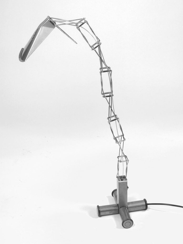 Industrial Multi X Desk Lamp by Yaacov Kaufman for Lumina, 1980s For Sale
