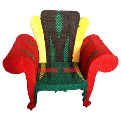 Multi-Color Armchair