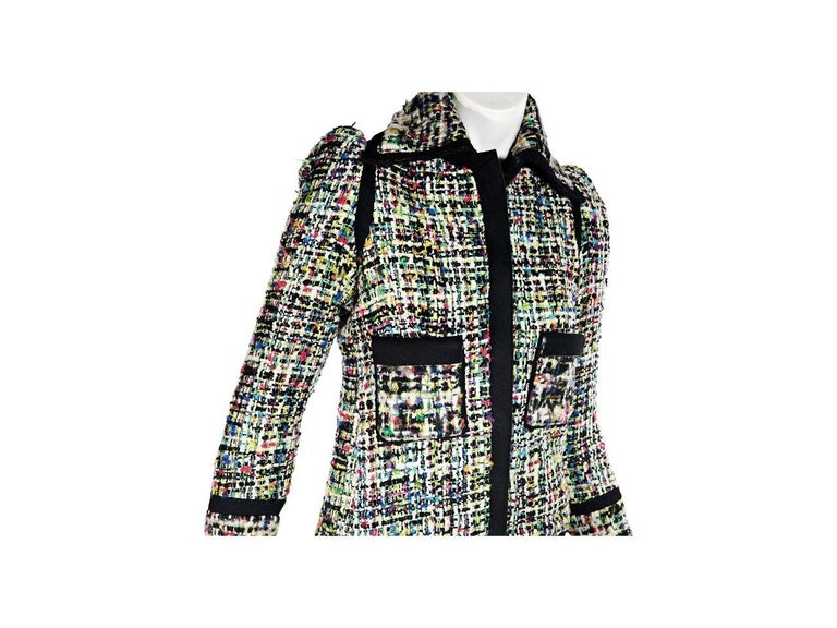 fb5d0e8b11a7 Multicolor Balenciaga Tweed Jacket For Sale at 1stdibs