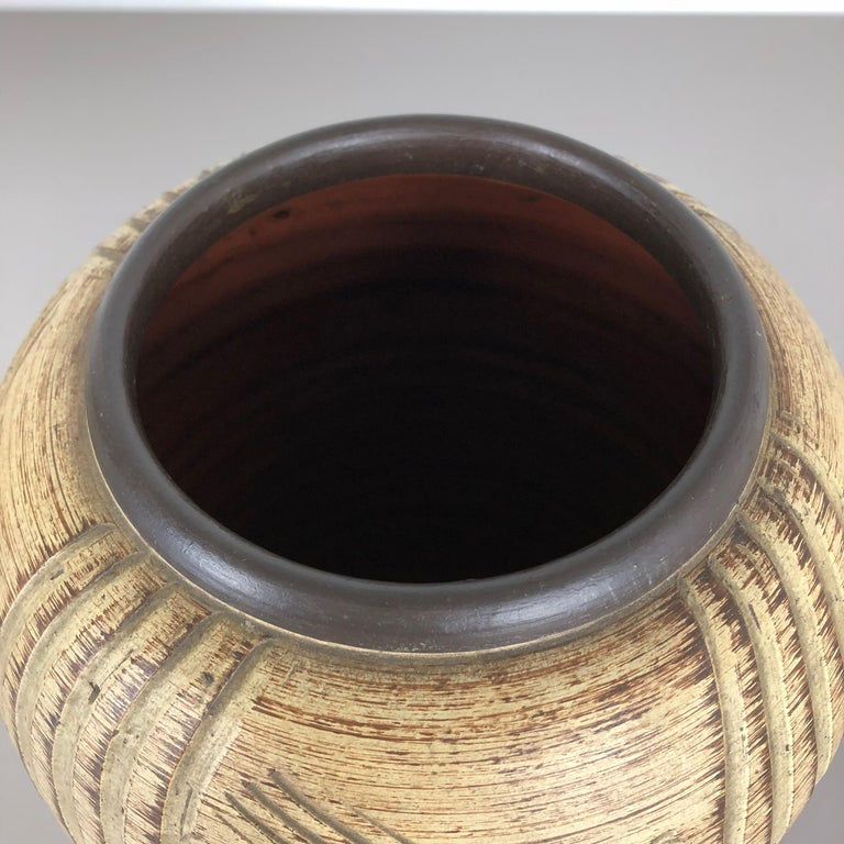Multi-Color Ceramic Pottery Vase, Sawa Ceramic Franz Schwaderlapp, Germany 1960 For Sale 3