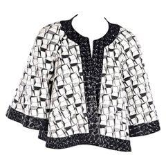 Multicolor Chanel Printed Jacket