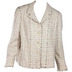 Multicolor Chanel Tweed Lesage Jacket