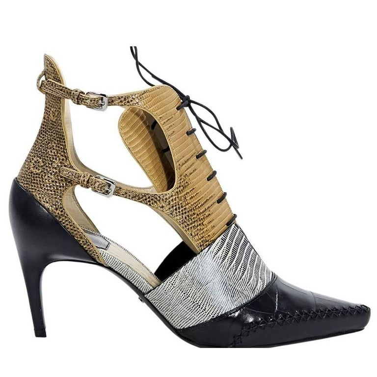 ad3196eadc4 Christian Dior Multicolor Nomade Pumps For Sale at 1stdibs