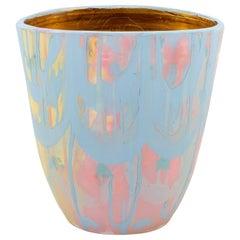 Multicolor & Gold Vase