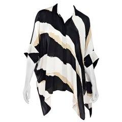 Multicolor Gucci Striped Silk Blouse