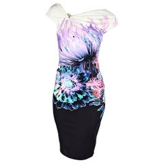 Multicolor Roberto Cavalli Jersey Printed Dress