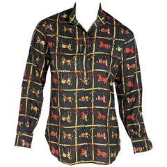 Gucci Multicolor Equestrian Blouse