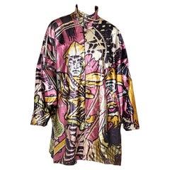 Multicolor Vintage Kansai Yamamoto Printed Jacket