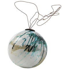 Multicolored B-Human 2.0 Hanging Decorative Clay Sphere