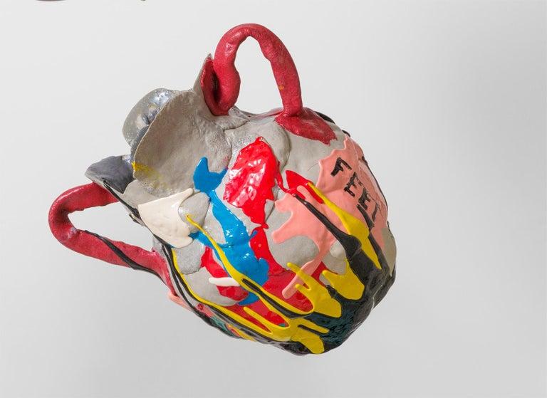 Mehrfarbige Zeitgenössische Schaum Vase 10